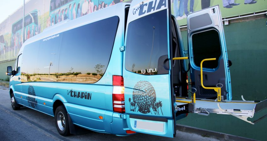 Minibús 19 plazos adaptado