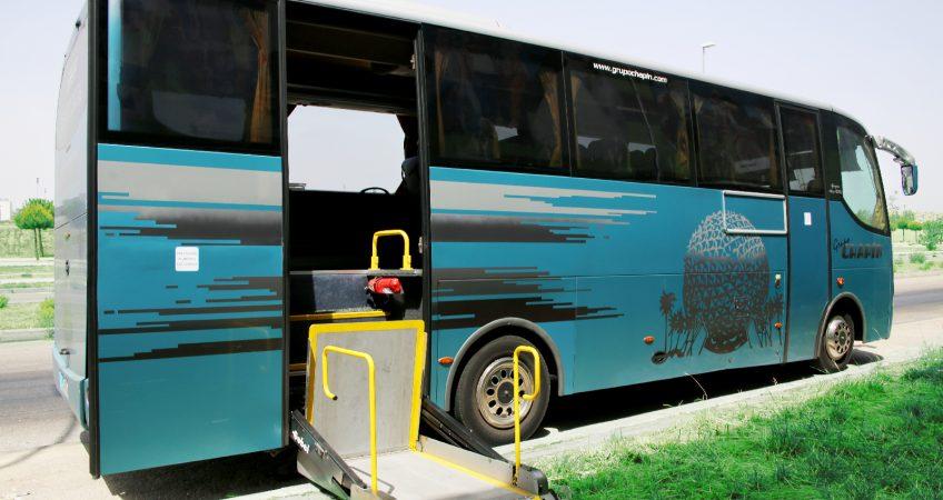 Autocar 34 plazas adaptado