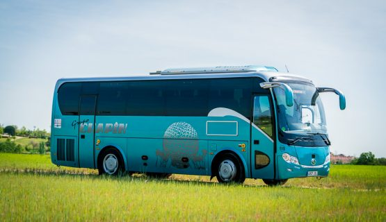 Flota grupochapin : minibus 34 plazas