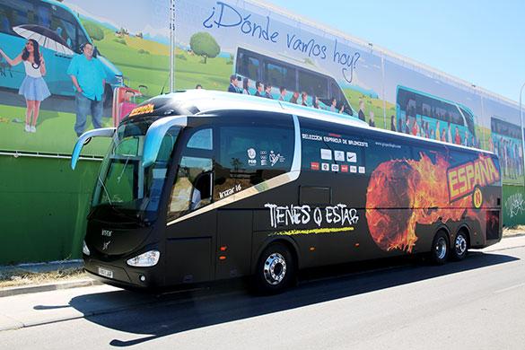 Autobuses y autocares publicitarios