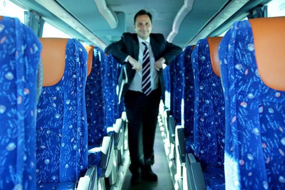 Autobuses y autocares para rutas de empresa
