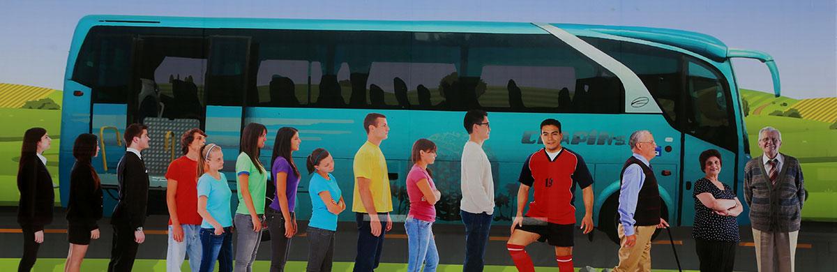 Alquiler de autobuses especiales en Madrid