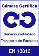 Certificado cámara de Madrid