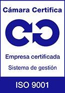 Certificado cámara de Madrid OHSAS 18001