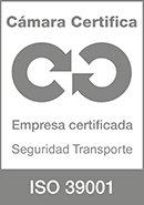 Certificado cámara de Madrid ISO9001