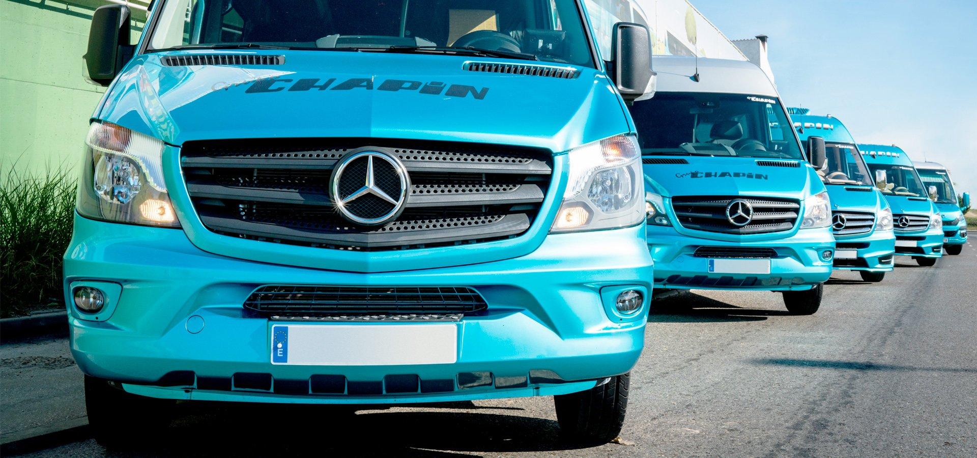 Grupo Chapín, autocares y autobuses