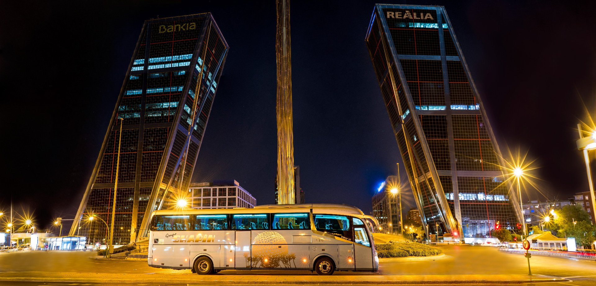 Grupo Chapín, alquiler de autobuses en Madrid