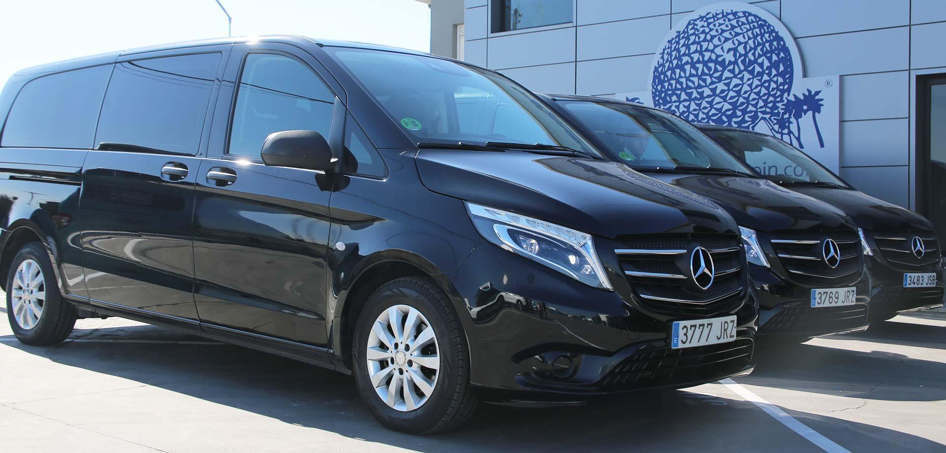 Alquiler de Minivans con conductor