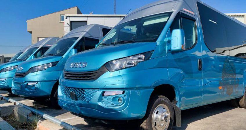 Los nuevos minibuses del Grupo Chapín Autocares