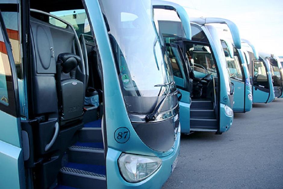 El autocar el medio de transporte más sostenible