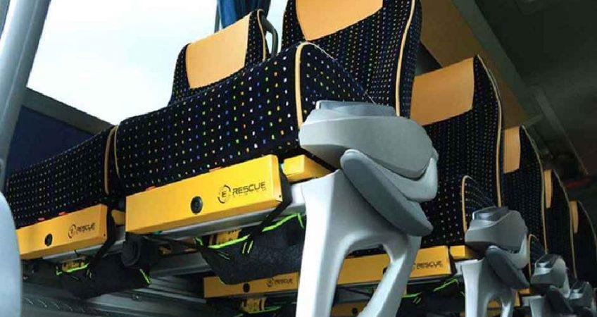 E-Rescue hace de tu asiento un elemento de seguridad