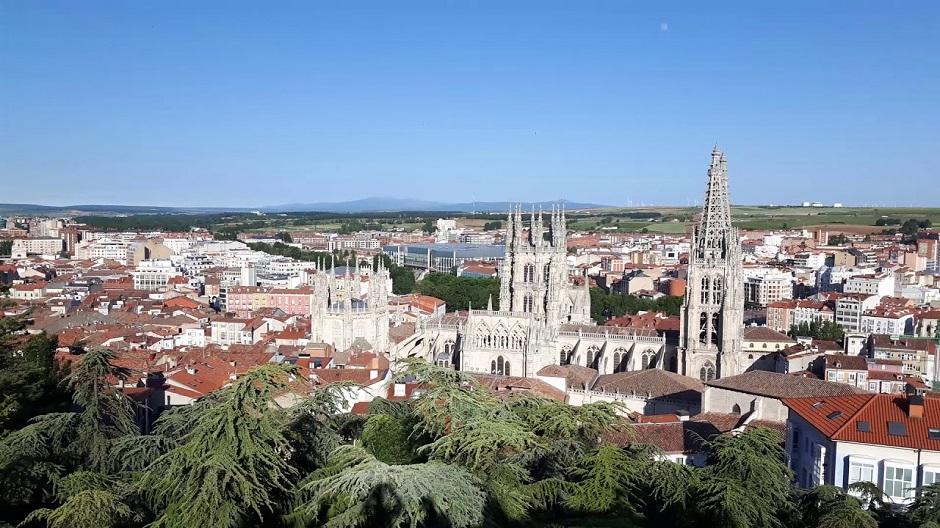 De turismo en Burgos con el Grupo Chapín