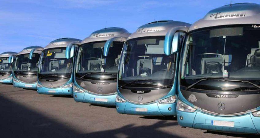 Días de turismo y transporte en autocar
