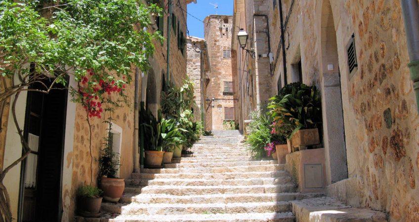 Hoy vamos a Fornalutx, Mallorca