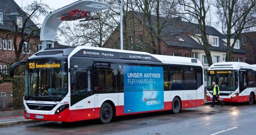 Volvo presenta su nuevo autobús eléctrico