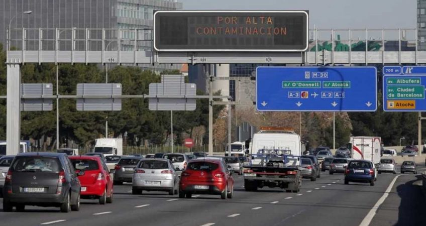 La Comunidad de Madrid limitará la velocidad en la M40 y M45