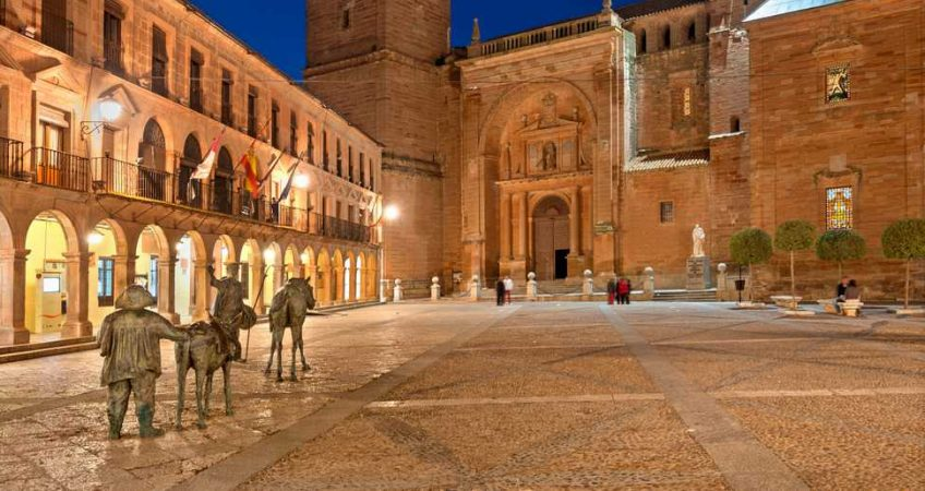 Hoy vamos a Villanueva de los Infantes en Ciudad Real