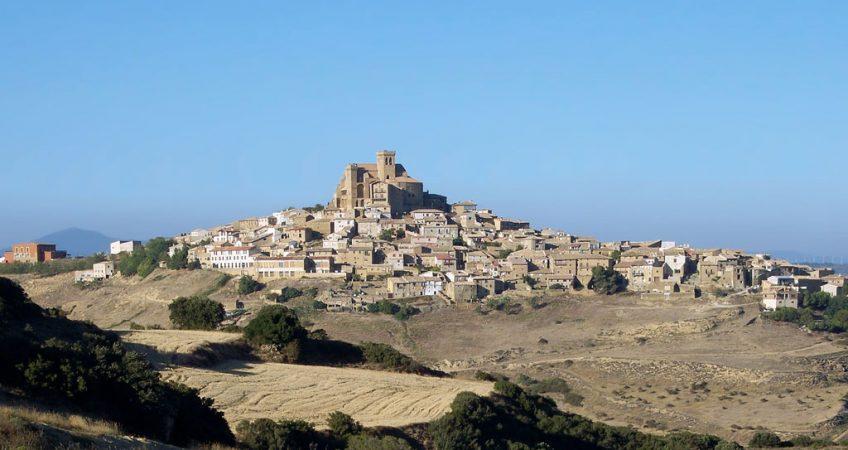 Hoy vamos a Ujué en Navarra