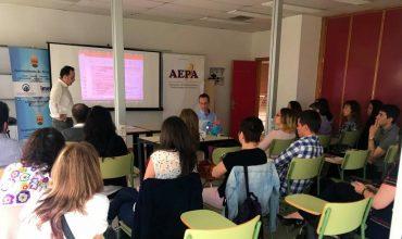 Diego Rodríguez participa en el seminario de posicionamiento SEO dirigido a empresarios