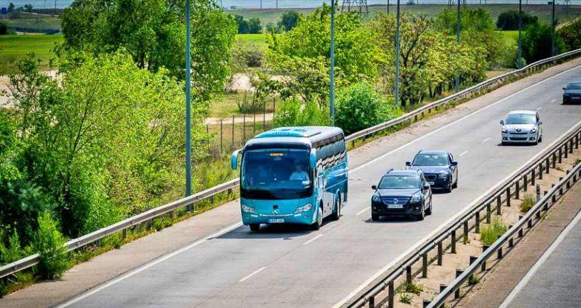 Transporte escolar en Madrid