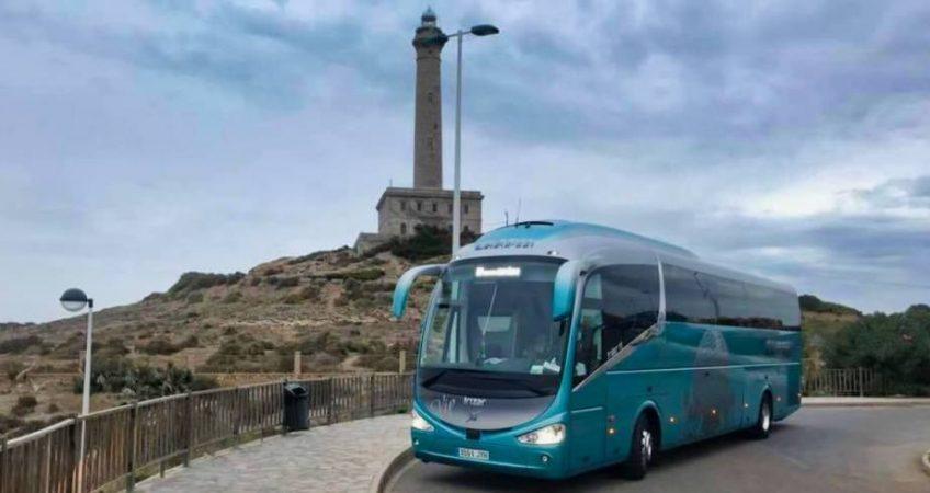 Viajamos al cabo de Palos con el autobús del Grupo Chapín.El cabo de Palos es uno de los cabos más recomendados para visitar en el Mediterráneo, da nombre a una población que se encuentra en el municipio de Cartagena en la región de Murcia.