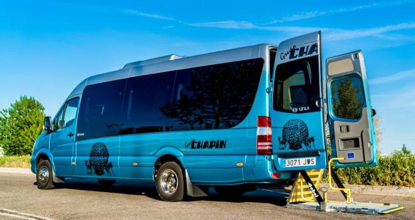 Seguridad en los autobuses del Grupo Chapín