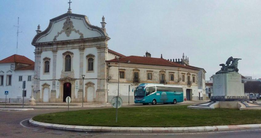 Viajamos a Estremoz con el autobús del Grupo Chapín