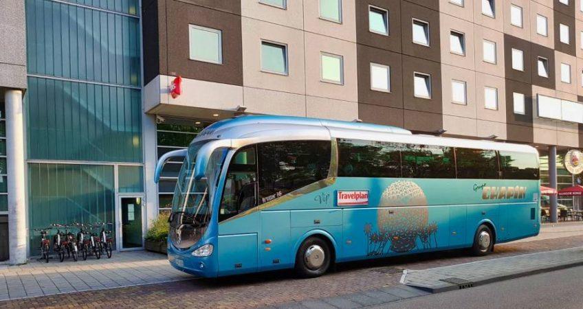 Viajamos a Ámsterdam con el autobús del Grupo Chapín