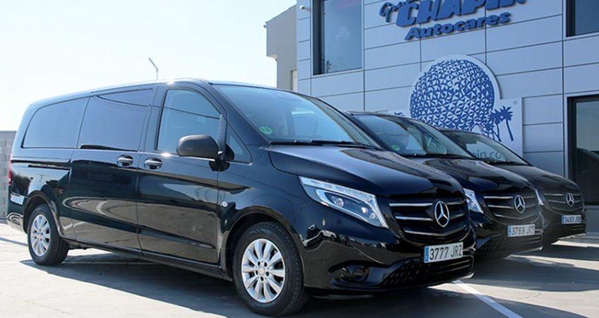 Alquiler de minivans con conductor en Madrid