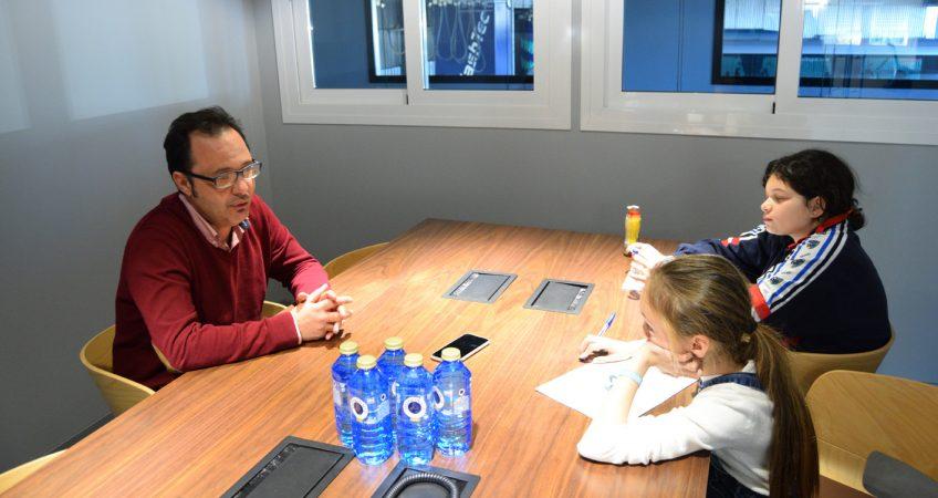 La Ciudad Los Muchachos entrevista al equipo de Chapín