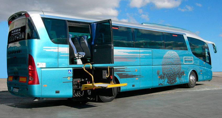 Flota grupochapin : autocar 54 plazas adaptado