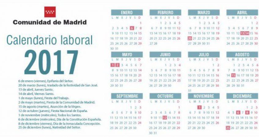 Calendario laboral 2017 grupo chapin alquiler de for Calendario laboral leganes 2017
